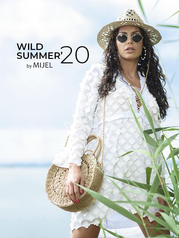Наслаждавай се на твоето диво и щастливо лято с дизайнерски рокли MIJEL